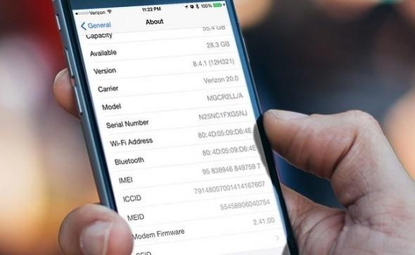 Cách check số serial iphone để kiểm tra máy chính hãng hay không
