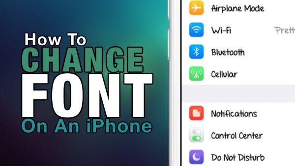 Hướng dẫn thay đổi font chữ trên iPhone dễ dàng
