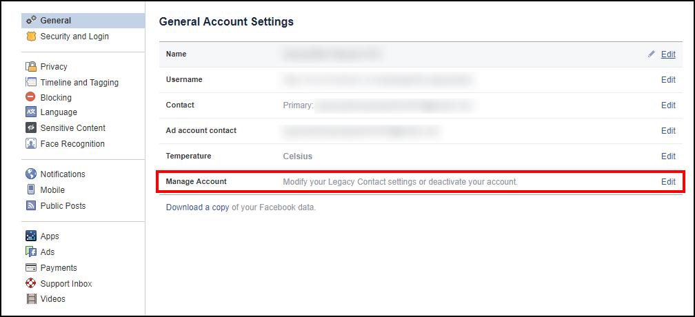 Làm sao để xóa tài khoản facebook khi không dùng nữa