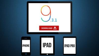 Download iOS 9.3.1 tốc độ cao từ Apple