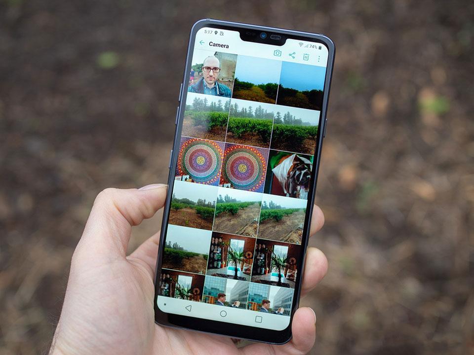 Hướng cách chụp màn hình cho điện thoại LG đơn giản