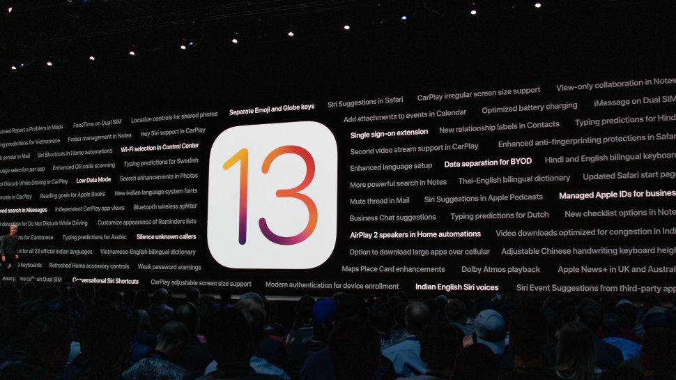 ios 13 beta và những thay đổi mới