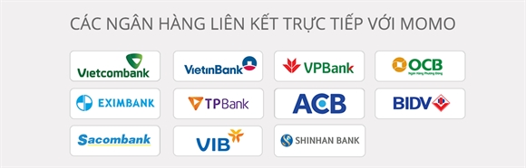 Danh sách các ngân hàng có thể liên kết với Ví MoMo