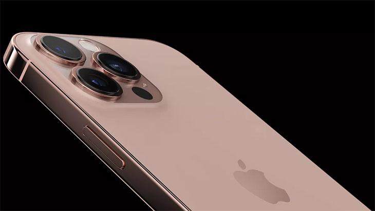 Phiên bản iPhone 13 màu vàng hồng (Rose Gold)