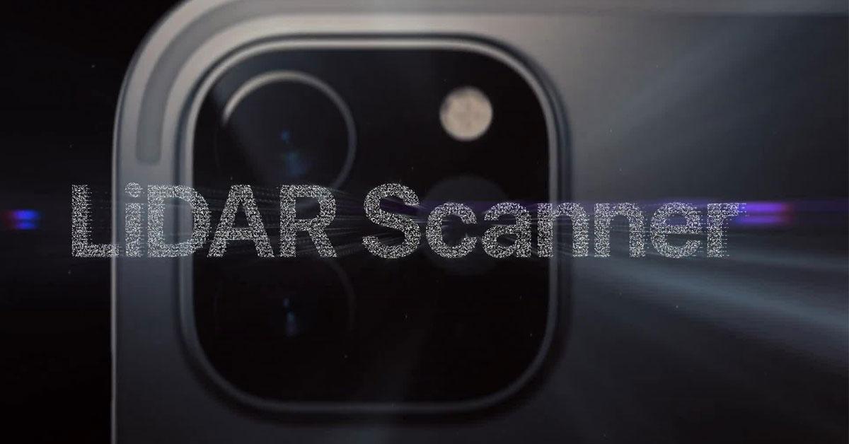 Máy quét LiDAR trên iPhone