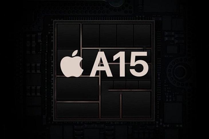 Chip Apple A15 Bionic