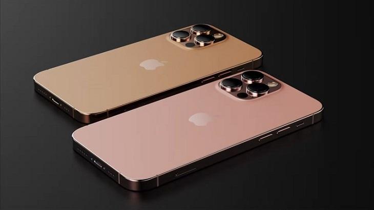 iPhone 13 có màu da cam và màu vàng hồng